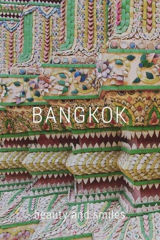 BANGKOK beauty and smiles