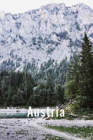 Austria Green lake