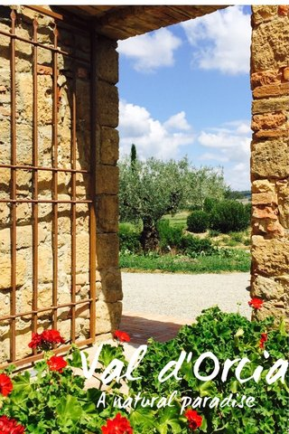 Val d'Orcia A natural paradise
