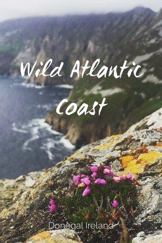 Wild Atlantic Coast Donegal Ireland