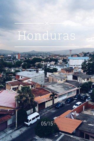 Honduras 05/15