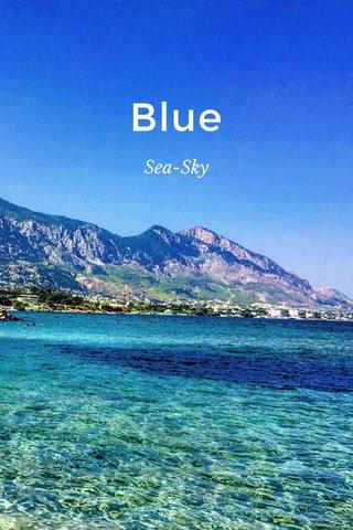 Blue Sea-Sky