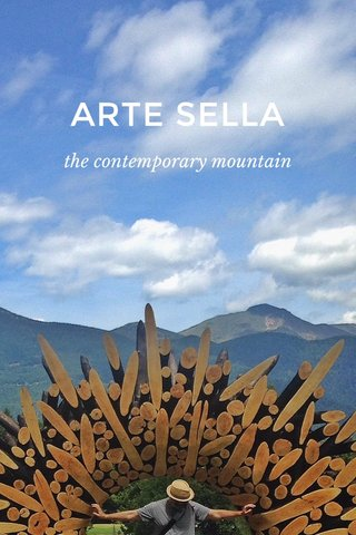 ARTE SELLA the contemporary mountain