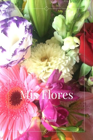 Mis Flores and Rumi