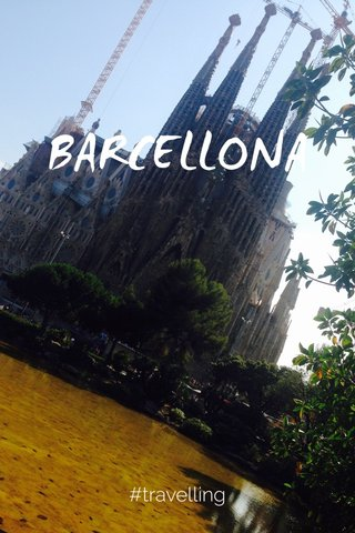 BARCELLONA #travelling