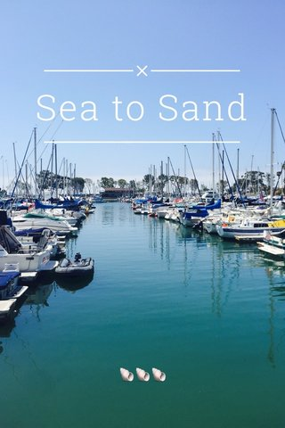 Sea to Sand 🐚🐚🐚