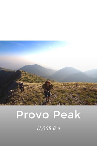 Provo Peak 11,068 feet