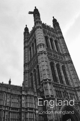 England #london #england