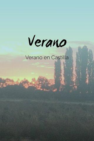 Verano Verano en Castilla