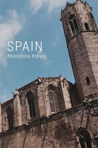 SPAIN #barcelona #spain
