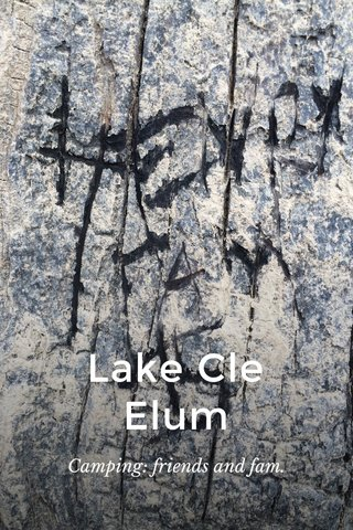 Lake Cle Elum Camping: friends and fam.