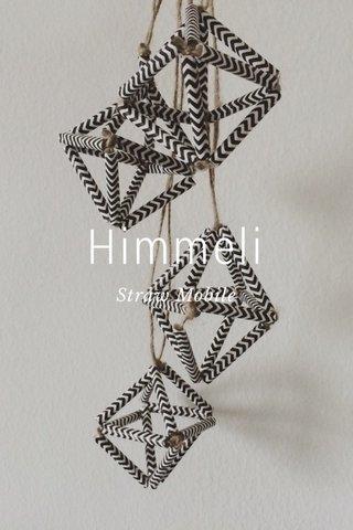 Himmeli Straw Mobile