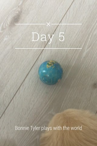 Day 5 Bonnie Tyler plays with the world
