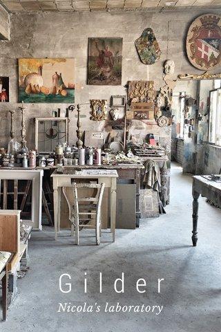 Gilder Nicola's laboratory