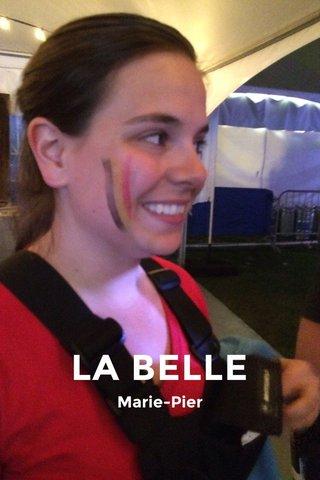 LA BELLE Marie-Pier