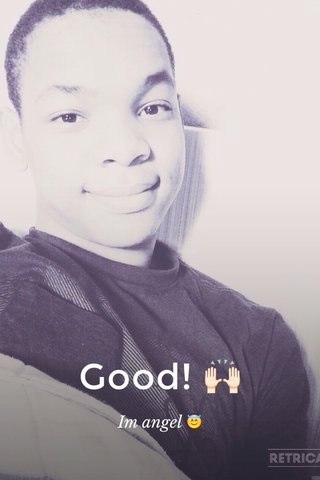 Good! 🙌🏻 Im angel 😇