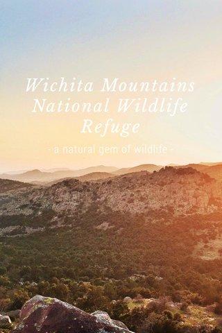 Wichita Mountains National Wildlife Refuge - a natural gem of wildlife -