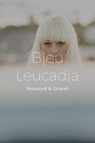 Bleu Leucadia Seaweed & Gravel
