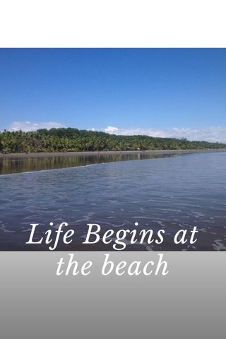 Life Begins at the beach