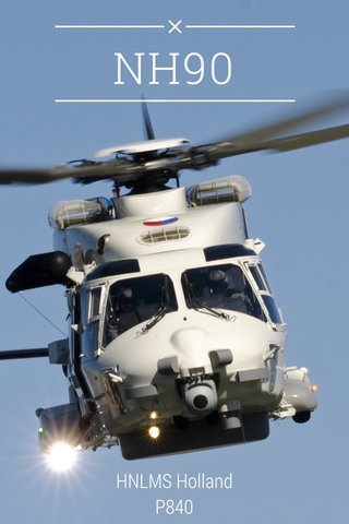 NH90 HNLMS Holland P840