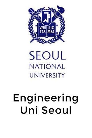 Engineering Uni Seoul