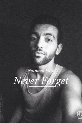 Never Forget National Park