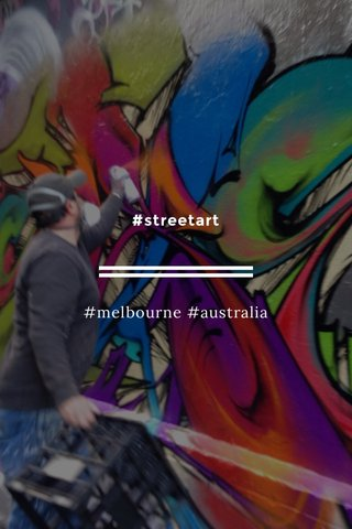 #streetart #melbourne #australia