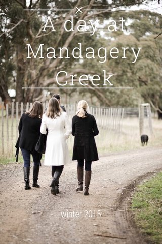 A day at Mandagery Creek winter 2015