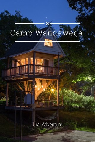 Camp Wandawega Ural Adventure