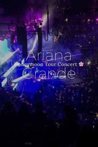 Ariana Grande Honeymoon Tour Concert 🌸