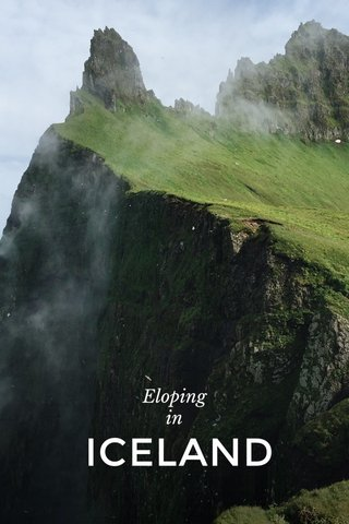 ICELAND Eloping in
