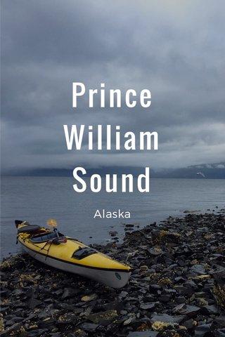 Prince William Sound Alaska