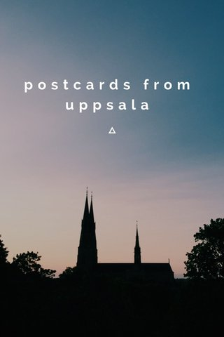 postcards from uppsala
