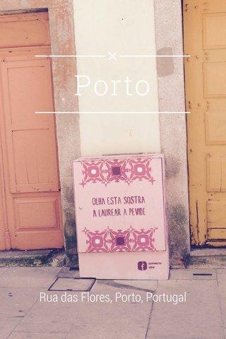 Porto Rua das Flores, Porto, Portugal
