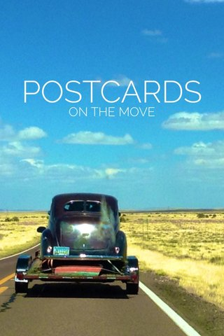 POSTCARDS ON THE MOVE