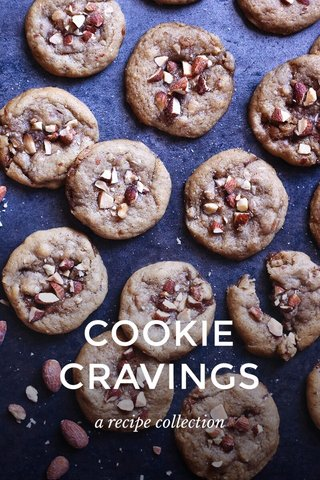 COOKIE CRAVINGS a recipe collection