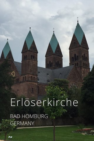 Erlöserkirche BAD HOMBURG GERMANY