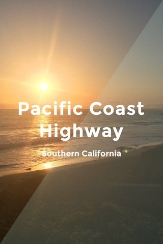 Pacific Coast Highway Southern California