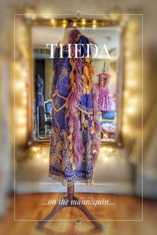 THEDA ...on the mannequin...