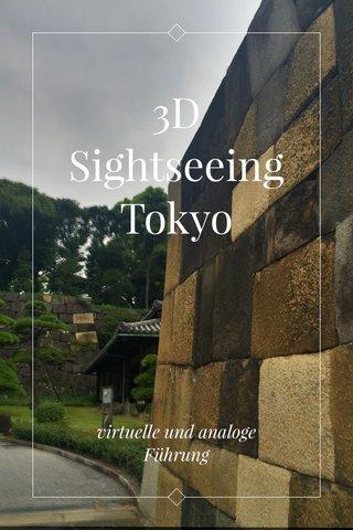 3D Sightseeing Tokyo virtuelle und analoge Führung