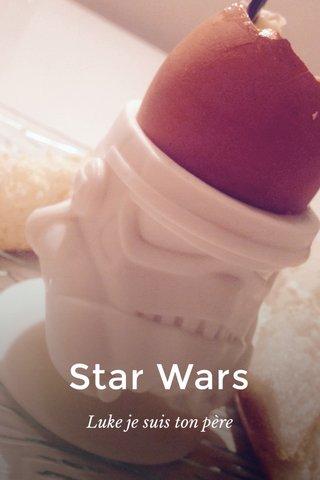 Star Wars Luke je suis ton père