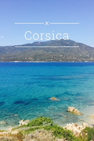 Corsica Blue