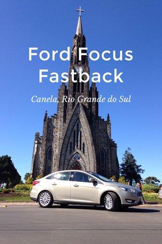 Ford Focus Fastback Canela, Rio Grande do Sul