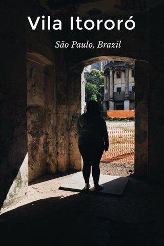 Vila Itororó São Paulo, Brazil