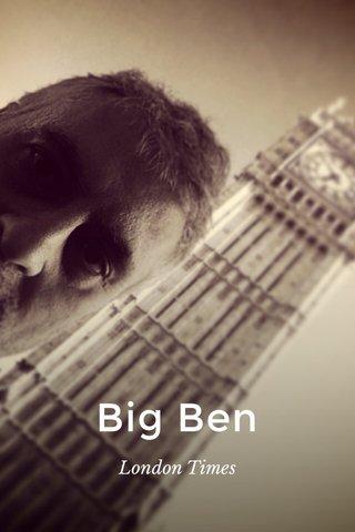 Big Ben London Times