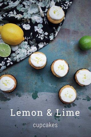 Lemon & Lime cupcakes