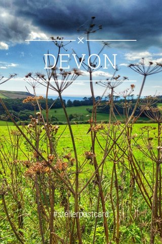 DEVON #stellerpostcard