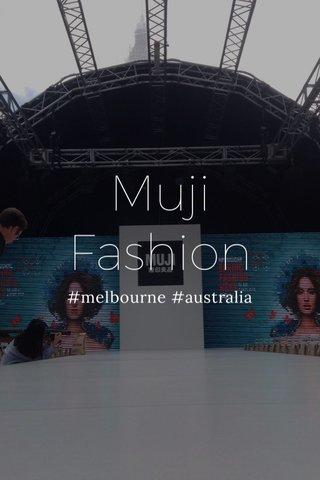 Muji Fashion #melbourne #australia