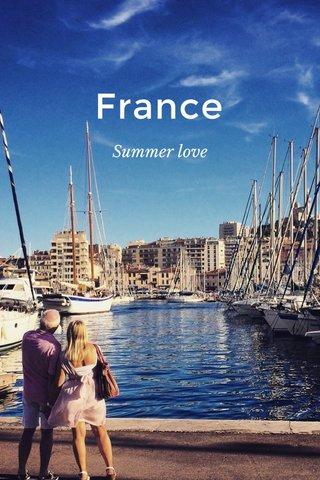 France Summer love