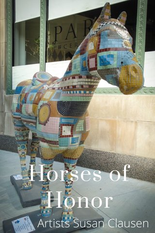 Horses of Honor Artists Susan Clausen